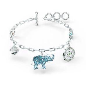 Swarovski Symbolic Elephant Bracelet,Light…